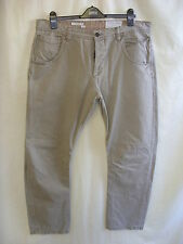 """Mens Jeans - NEXT, size 38""""W regular, beige colour, cotton, straight, used 7847"""