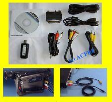 USB Video-Grabber zum digitalisieren von Audio- und Video Daten mit Software