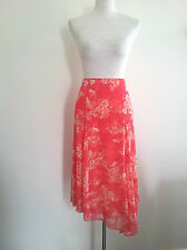 Pretty Pastels! David Lawrence size 12 pink mesh skirt in excellent condition