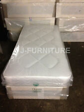 3ft Standard Single Divan Bed with Deep Quilt Mattress
