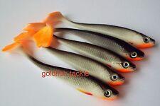 Drop shot lures, 7 cm long duck fin - perch, pike, zander fishing bait