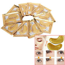 10 Pairs Collagen Gold Eye Mask Eyelid Care Patch Pad Moisture Anti-Wrinkle