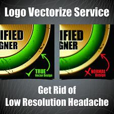 Logo Design Service, Logo vectorize, Vector logo, Graphic Design