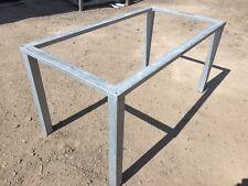 Tischgestell Stahlgestelll wetterfest verzinkt f. Gartentisch Terrassentisch NEU