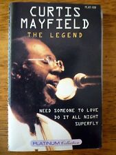 CURTIS MAYFIELD The Legend Music Cassette Platinum Collection Janda Music