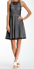 Marc New York - Mesh Fit & Flare Dress - RRP US$118 - Size 14 - BNWT