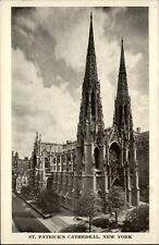 New York USA postcard ~1950/60 St. Patrick's Cathedral exterior view Kirche