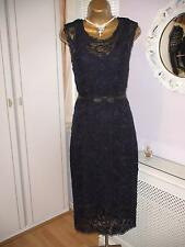 Winser London Navy lace ladies dress Size 12 RRP £295 From John Lewis