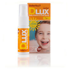 Vitamin D Spray Dlux Junior BetterYou 15ml 400 I.E. DluxJunior Mundspray D3