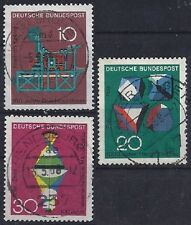 Bund BRD FRG Germany Mi. Nr. 546 + 547 + 548 Jahr year 1968 VOLLSTEMPEL / Used