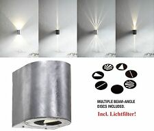 Designer LED Outdoor Wall light Canto Nordlux 6W 260Lm 3000K galvanized