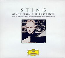 Sting - Songs from the Labrynth [Digipak]   *** BRAND NEW CD ***