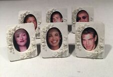 Set Of 6 Small Picture Frames Flower Design China