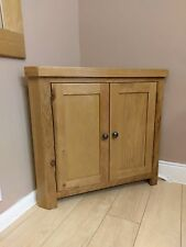 Kingsford SOLID OAK CORNER CUPBOARD cabinet - Assembled & Free Delivery**