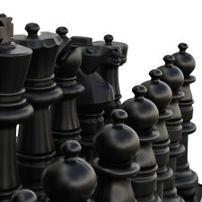 Giant 90cm High (King) Plastic Chess Set For Indoor and Outdoor Use