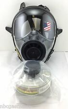 40mm NATO SGE 150 Gas Mask w/Military-Grade NBC Filter - Brand New, Exp 2021 NIB