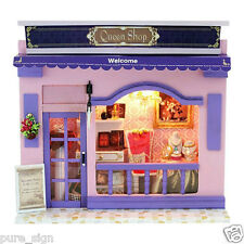 DIY Handcraft Miniature Project Kit The Luxury Fashion Shop Wooden Dolls house