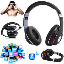 Foldable 4 in1 Wireless 3.0 Bluetooth Stereo Headphones Headset Built-In Mic New