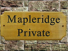 Personalised Wooden House Name Plaque/Signs- Solid hard wood,Porch, Conservatory