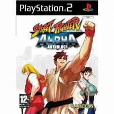 Street Fighter Alpha Anthology Game PS2 Brand New