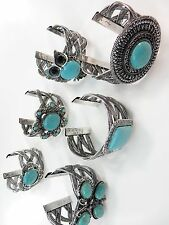 [US SELLER] 10pcs vintage retro wholesale turquoise bangle