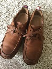 Rockport Adiprene By Adidas Brown Leather Lightweight Casual Shoes 9