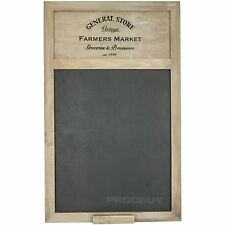 General Store Farmers Market Chalk Memo Notice Black Board Vintage Shabby Chic