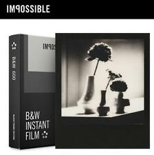 Gen 2.0 Impossible Project B&W Instant Film BLACK FRAME for Polaroid 600 OneStep