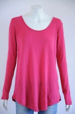 'Kookai' Women's Pink Wool Long Sleeve Top With Open Back {One Size}