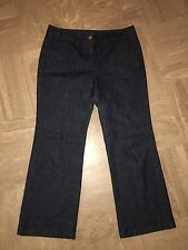 Ladies Principles Petite Wide Leg Jeans Size 12 W32 L28