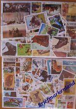 200 verschiedene Briefmarken Pferde , horse , gavallo