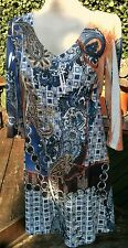"""Asos Tunic Dress size 12 /14 Bust 38"""" Length 32"""" Sparkly Diamante Studs on Front"""