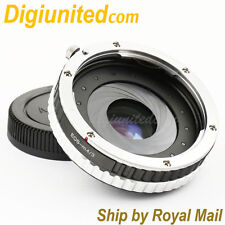 Focal Reducer Speed Booster Canon EOS EF lens to Micro 4/3 Adapter aperture GH4