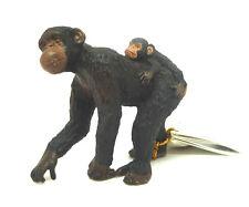 W8) PAPO (50012) Schimpanse  Affe Affen Safari Savanne Afrika Chimpanzee