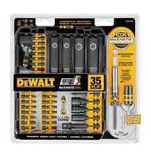 Dewalt Tool Set Drilling And Driving Set 35-PC Impact Ready Flex Torq Drilling