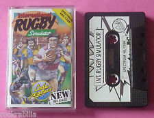 Sinclair ZX Spectrum - Codemasters INTERNATIONAL RUGBY SIMULATOR 1988 *NEW!