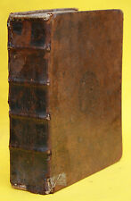 DE LA CROIX,ALLGEMEINE WELT-BESCHREIBUNG,3. & 4. THEIL,LEIPZIG,GLEDITSCH,1697