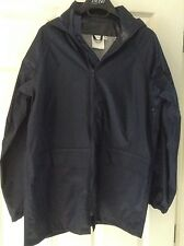 "Boys' Navy Blue John Lewis Waterproof Jacket - 32"" Chest - New"