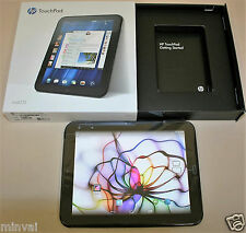 9.7in HP TouchPad 16GB Wi-Fi Glossy Black DualBoot WebOS/Android FB454UT Tablet