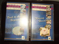 Folk & Decorative Art Lyn Foster VHS Volumes 1 & 2 New & Sealed