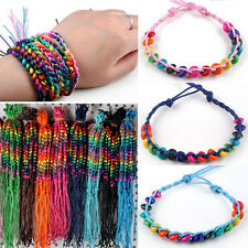 Hot 10PCS Wholesale Jewellery Friendship Beads Handmade Bracelets Cuff Bangles