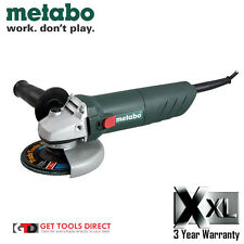 New Metabo 125Mm 850W Angle Grinder W85-125 3 Year Warranty