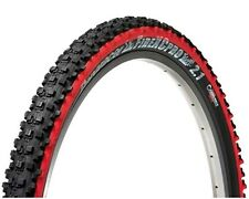 "Panaracer Fire XC Pro Tubeless Ready MTB Bicycle Bike Tyre Tyres 26"" x 2.1 Red"
