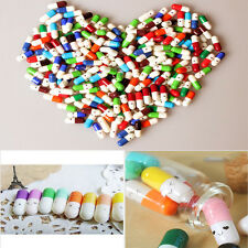 50pcs Distinctive Endearing Message Pills Lucky Wishing Capsule Multiple Colors