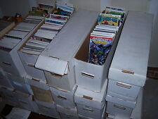 1 box Lot of 80 comics Marvel,DC other Publishers NO duplication free shipping