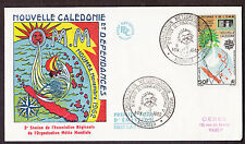 New Caledonia - 3rd Regional Assembly of Meteorological Association 1962 FDC