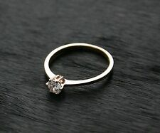 585 Russian Rose 14ct Gold  Engagement Beauty Ring Size J-15.5 Gift boxed