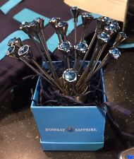 BOMBAY SAPPHIRE COCKTAIL STAINLESS STEEL And Crystal  - NEW