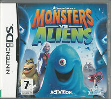 Nintendo Ds Dreamworks Monsters vs Aliens (plays 3ds in 2D)