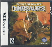 Battle of Giants DINOSAURS (Nintendo DS ) region free USA edition BRAND NEW